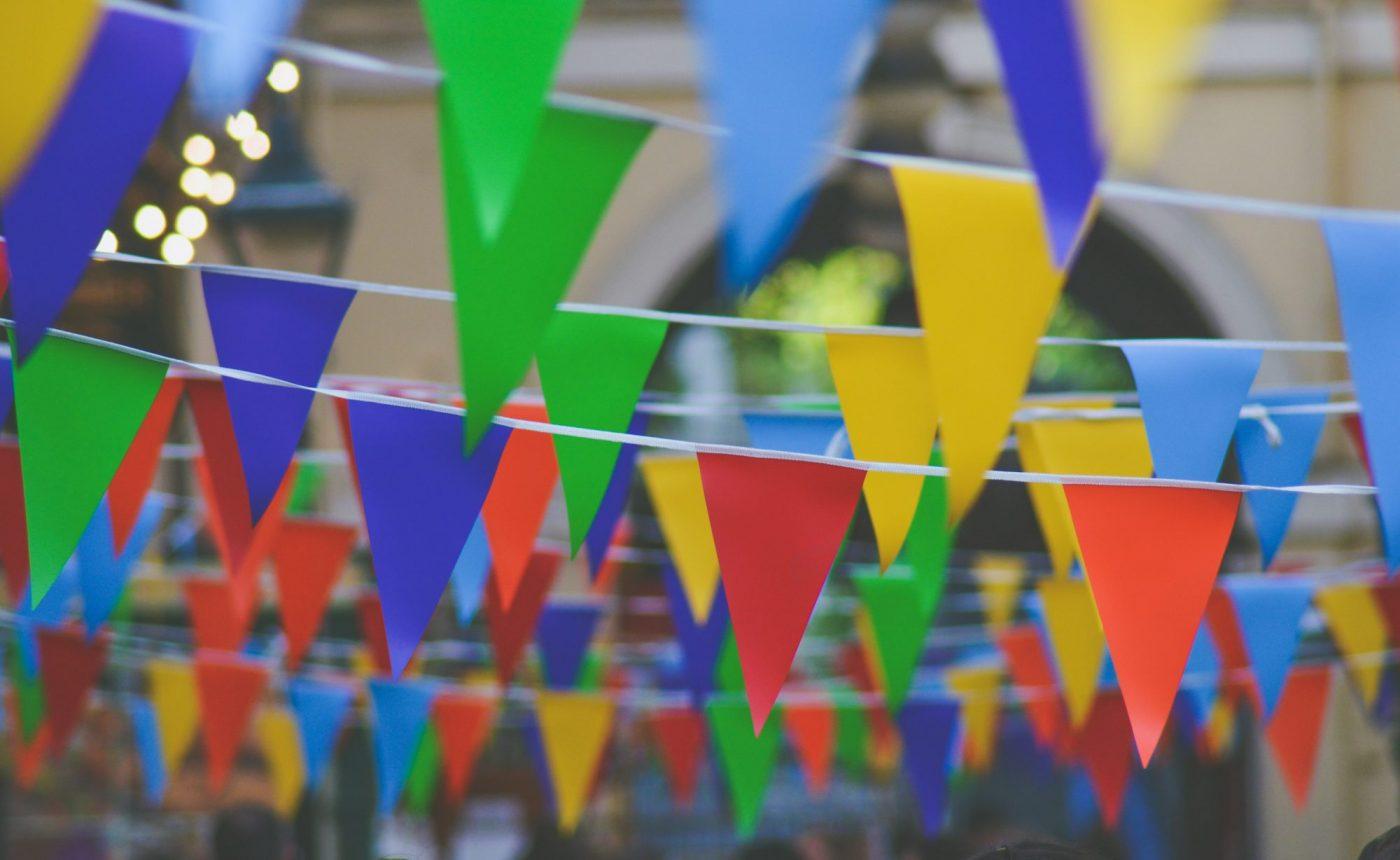 festival bunting